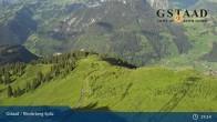 Archiv Foto Webcam Gstaad - Rinderberg Spitz 13:00