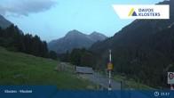 Archiv Foto Webcam Klosters Monbiel Parkplatz 02:00