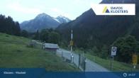 Archived image Webcam Klosters Monbiel Car Park 21:00