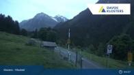 Archived image Webcam Klosters Monbiel Car Park 23:00