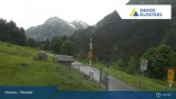 Archived image Webcam Klosters Monbiel Car Park 01:00