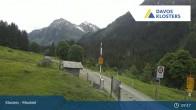 Archived image Webcam Klosters Monbiel Car Park 03:00