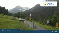 Archived image Webcam Klosters Monbiel Car Park 05:00