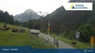 Archived image Webcam Klosters Monbiel Car Park 07:00