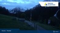 Archiv Foto Webcam Klosters Monbiel Parkplatz 04:00