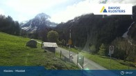 Archiv Foto Webcam Klosters Monbiel Parkplatz 08:00