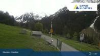 Archiv Foto Webcam Klosters Monbiel Parkplatz 10:00