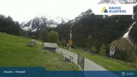 Archiv Foto Webcam Klosters Monbiel Parkplatz 12:00