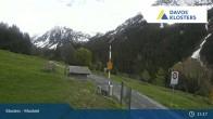 Archiv Foto Webcam Klosters Monbiel Parkplatz 14:00