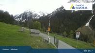 Archiv Foto Webcam Klosters Monbiel Parkplatz 16:00