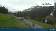 Archiv Foto Webcam Klosters Monbiel Parkplatz 18:00