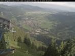 Archiv Foto Webcam Laber Bergbahn: Blick nach Oberammergau 02:00