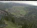 Archiv Foto Webcam Laber Bergbahn: Blick nach Oberammergau 08:00