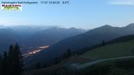 Archiv Foto Webcam Bad Hofgastein - Haitzingalm 22:00