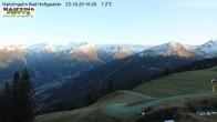 Archiv Foto Webcam Bad Hofgastein - Haitzingalm 11:00