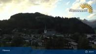 Archiv Foto Webcam Filzmoos: Papageno Talstationsgebäude (1057m) 19:00