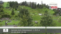 Archiv Foto Webcam Asitz Kabinenbahn Mittelstation 04:00