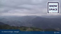 Archiv Foto Webcam Alpendorf: Blick vom Gernkogel ins Tal (Obergass) 21:00