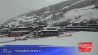 Archived image Webcam Wildkogel Ski Resort: Top station Frühmesserbahn lift 2150m 02:00