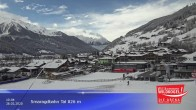 Archived image Webcam Wildkogel Ski Resort: Top station Frühmesserbahn lift 2150m 04:00
