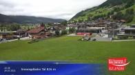 Archiv Foto Webcam Wildkogel-Arena: Bergstation Frühmesserbahn 2150m 04:00