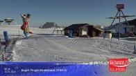 Archived image Webcam Wildkogel Ski Resort - Panorama restaurant at 2100m 02:00