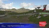 Archiv Foto Webcam Wildkogel-Arena: Bergrestaurant 2100m 04:00