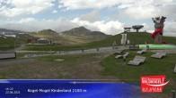 Archiv Foto Webcam Wildkogel-Arena: Bergrestaurant 2100m 08:00