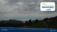 Archiv Foto Webcam Zauchensee Gamskogelhütte 19:00