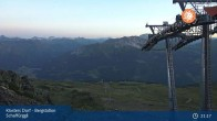 Archived image Webcam Klosters - Schaffürggli Top Station 21:00
