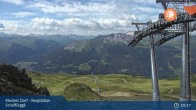 Archived image Webcam Klosters - Schaffürggli Top Station 03:00