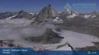 Archiv Foto Webcam Zermatt - Matterhorn Glacier Paradise 07:00