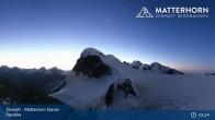 Archiv Foto Webcam Zermatt - Matterhorn Glacier Paradise 23:00