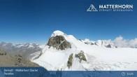 Archiv Foto Webcam Zermatt - Matterhorn Glacier Paradise 09:00