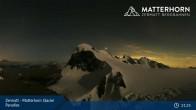 Archived image Webcam Zermatt: Matterhorn Glacier Paradise 15:00