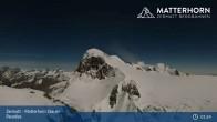 Archiv Foto Webcam Zermatt - Matterhorn Glacier Paradise 19:00