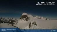 Archiv Foto Webcam Zermatt - Matterhorn Glacier Paradise 21:00