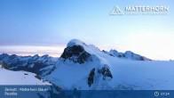 Archiv Foto Webcam Zermatt - Matterhorn Glacier Paradise 01:00