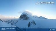 Archived image Webcam Zermatt: Matterhorn Glacier Paradise 01:00