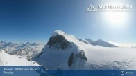 Archived image Webcam Zermatt: Matterhorn Glacier Paradise 03:00