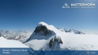 Archived image Webcam Zermatt: Matterhorn Glacier Paradise 05:00