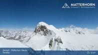 Archived image Webcam Zermatt: Matterhorn Glacier Paradise 09:00