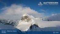 Archived image Webcam Zermatt: Matterhorn Glacier Paradise 13:00