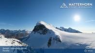 Archiv Foto Webcam Zermatt - Matterhorn Glacier Paradise 08:00
