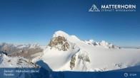 Archiv Foto Webcam Zermatt - Matterhorn Glacier Paradise 16:00