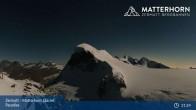 Archiv Foto Webcam Zermatt - Matterhorn Glacier Paradise 20:00
