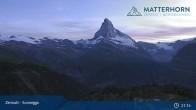 Archiv Foto Webcam Zermatt - Sunnegga 21:00