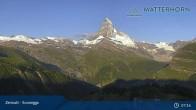 Archiv Foto Webcam Zermatt - Sunnegga 01:00