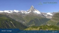 Archiv Foto Webcam Zermatt - Sunnegga 03:00