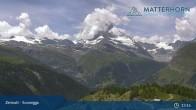 Archiv Foto Webcam Zermatt - Sunnegga 07:00